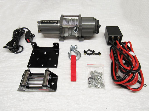 12V 3500LB Electric Recovery Winch - Trailer Truck Boat ATV Car Van Wired Remote